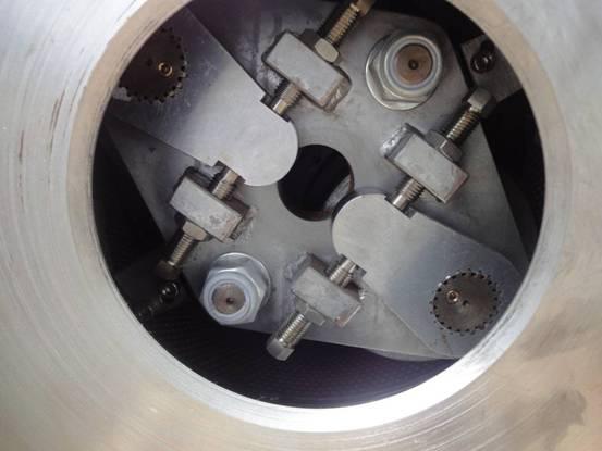 Rollers die gap adjust system