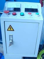Electrical Control Cabinet for homemade pellet mill