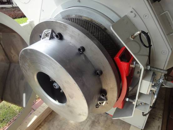 pellet mill pelletizing assembly