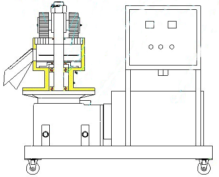 structure of pellet press
