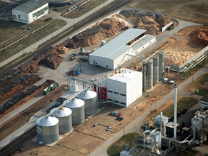wood pellets for industry